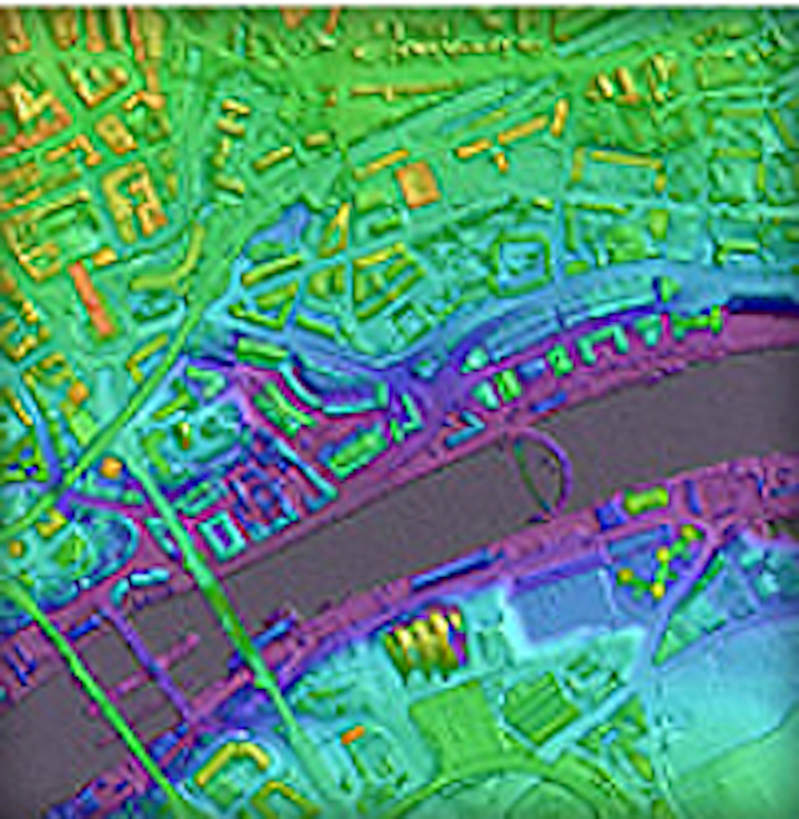 Airborne mapping system captures 3-D images