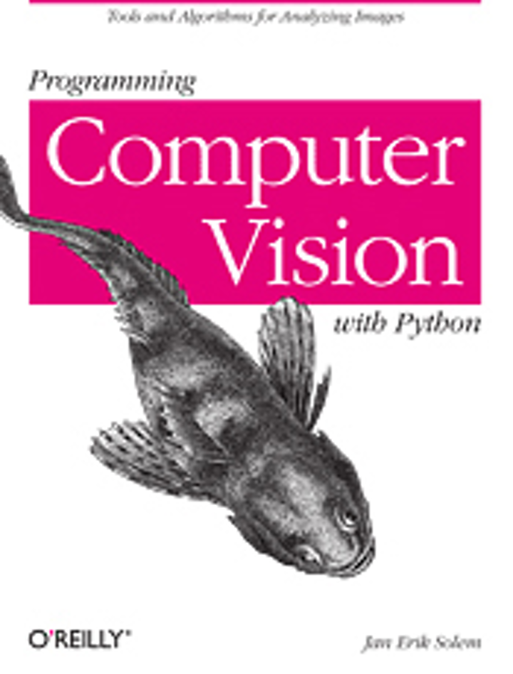 Programming computer vision with Python   Vision Systems Design