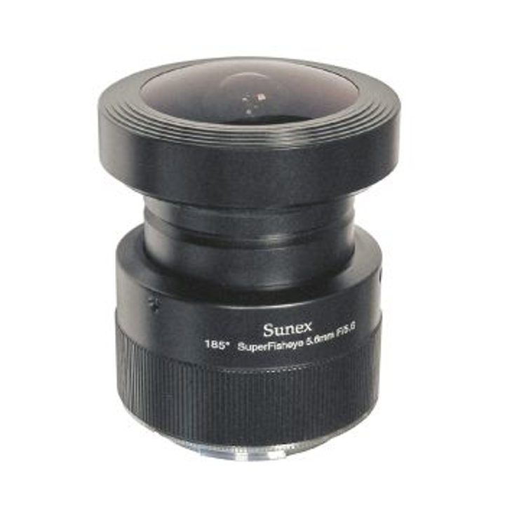 FRAMOS offers Sunex fisheye lens with 185-degree FOV