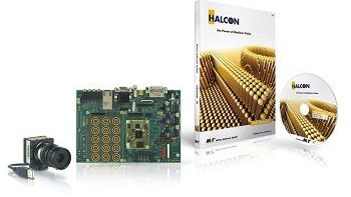 HALCON software from MVTec supports embedded vision on mobile devices