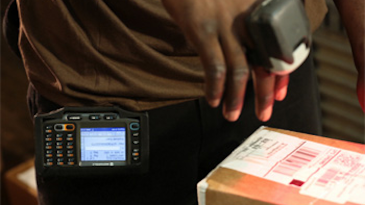 Ring scanners improve operational efficiency at UPS