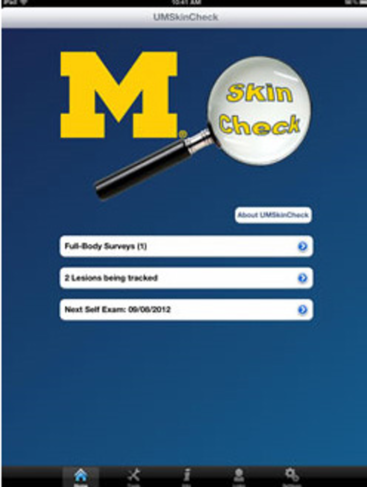 Mobile app helps track moles