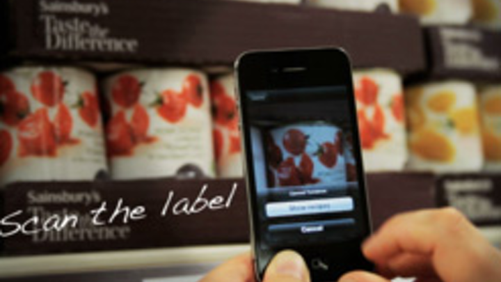 iPhone app cooks up ideas from labels