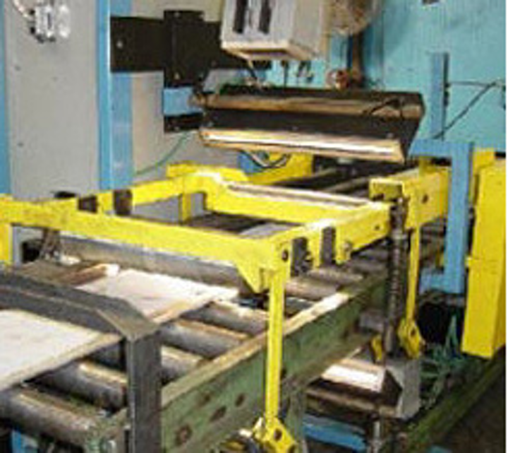 Machine vision system detects cracks in slabs