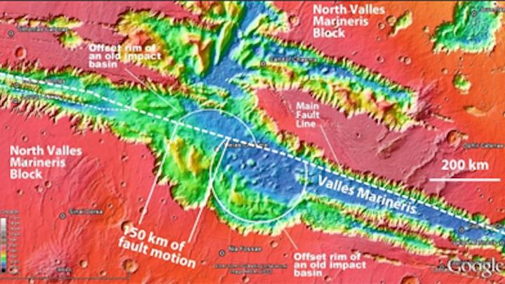 Plate tectonics found on Mars