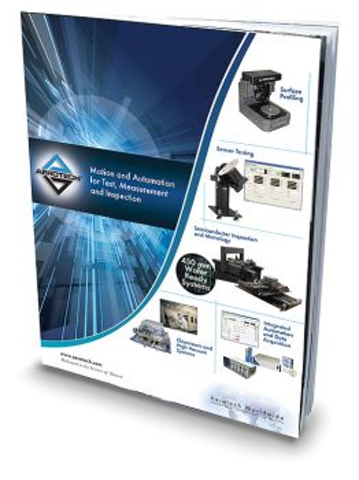 Aerotech provides detailed application examples in motion-control product catalog