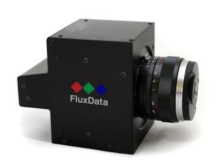 FluxData's SWIR camera employs three sensors for multispectral coverage