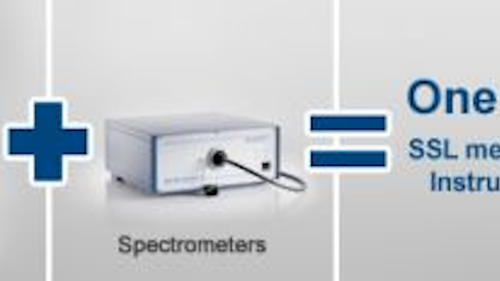 Instrument Systems' goniophotometer measures color spectral characteristics