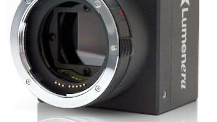 Lumenera's progressive-scan camera captures 5 frames/sec at full 4008 x 2672 resolution