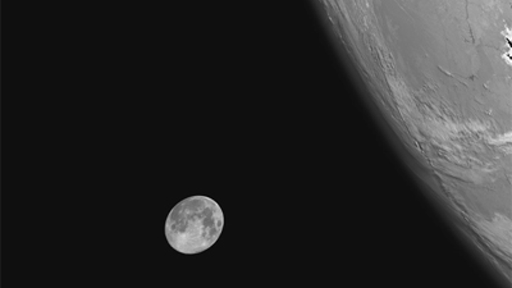Satellite imager captures perfect picture of a blue Moon