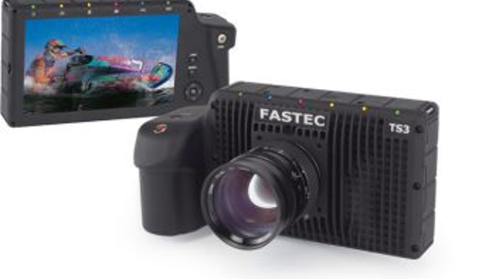 Fastec's high-speed camera includes USB and SD ports for flexible data transfer options