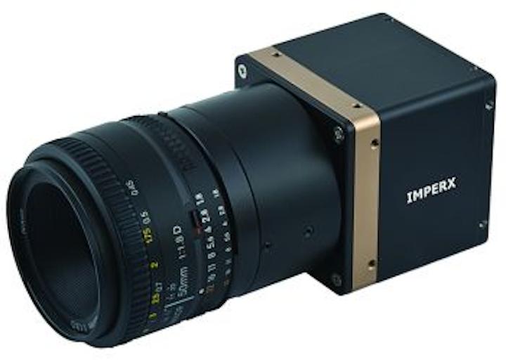 IMPERX four-tap camera operates in high temperatures