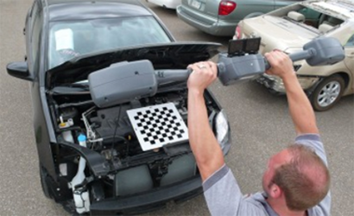 3-D wand helps technicians effect auto repairs