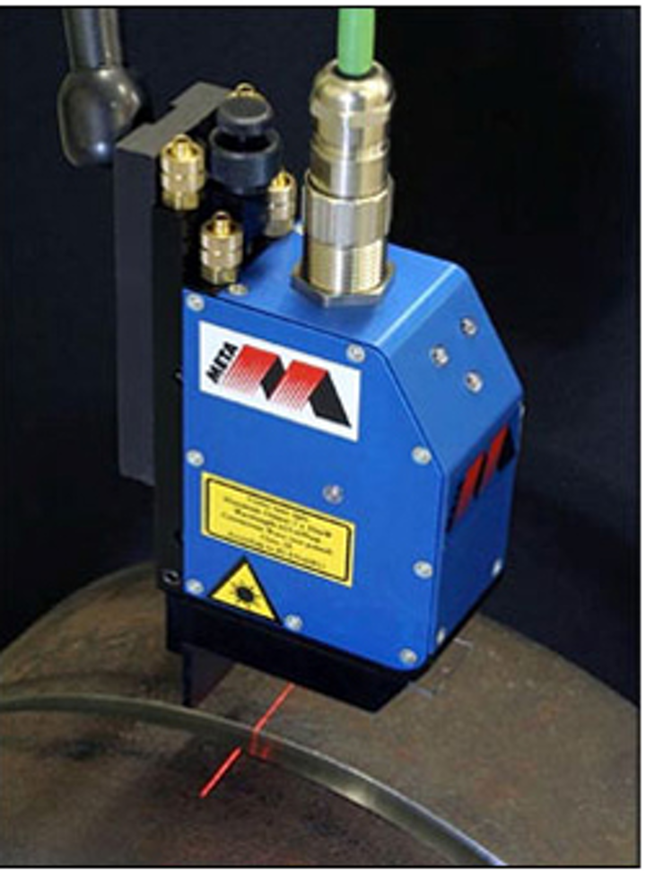 Laser sensor automates arc welding