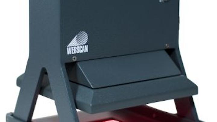 Webscan's handheld reader verifies large barcodes