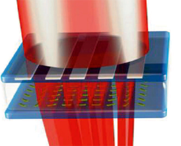 UK academics design dual function lens