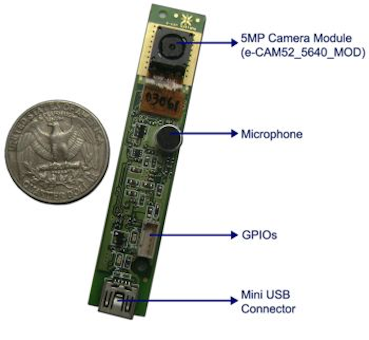 USB camera module from e-con Systems employs 5-Mpixel sensor with auto image control functions