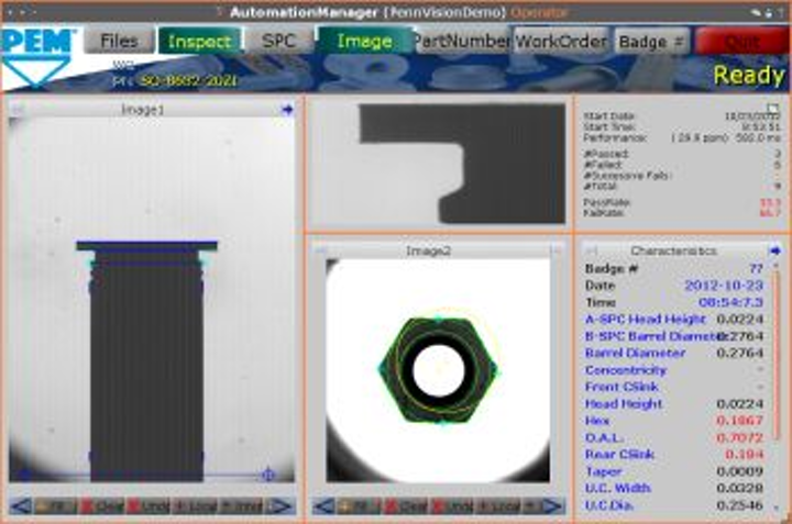 Automation Manager software from Soft Automation enables drag-and-drop handling of vision and control systems