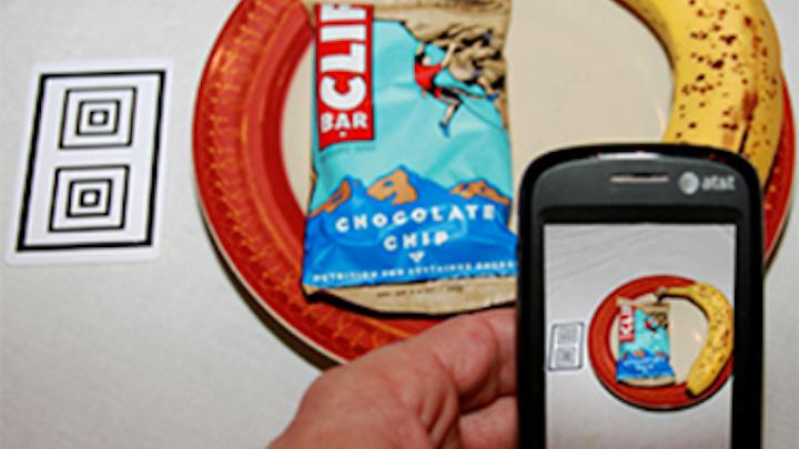 Smart phone app analyzes food
