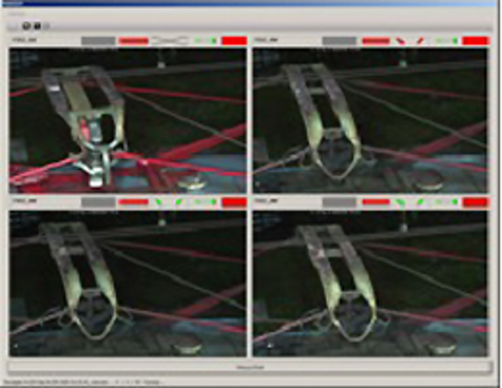 Imaging software checks pantographs for defects