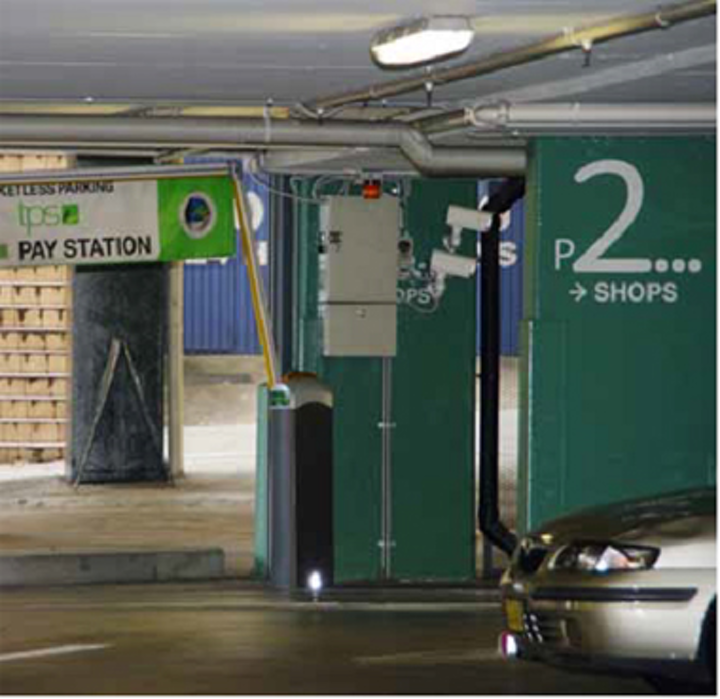 Vision enables paperless parking