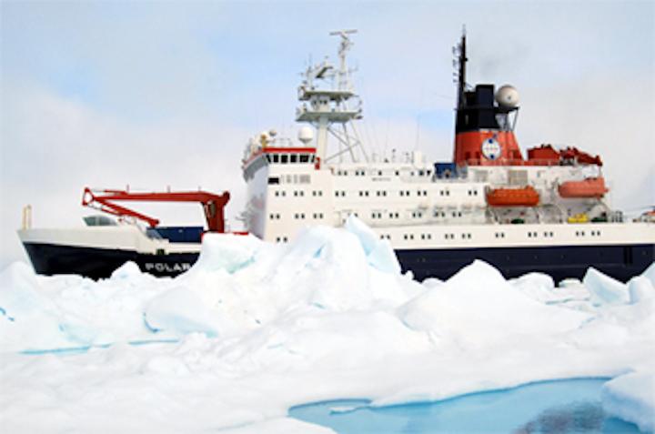 3-D camera maps sea ice
