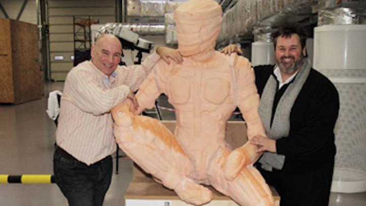 3-D scanner helps create Man of Steel