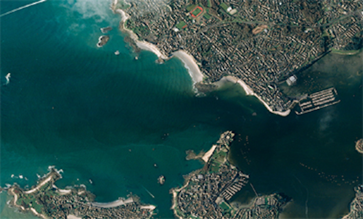 e2v sensors capture images from space