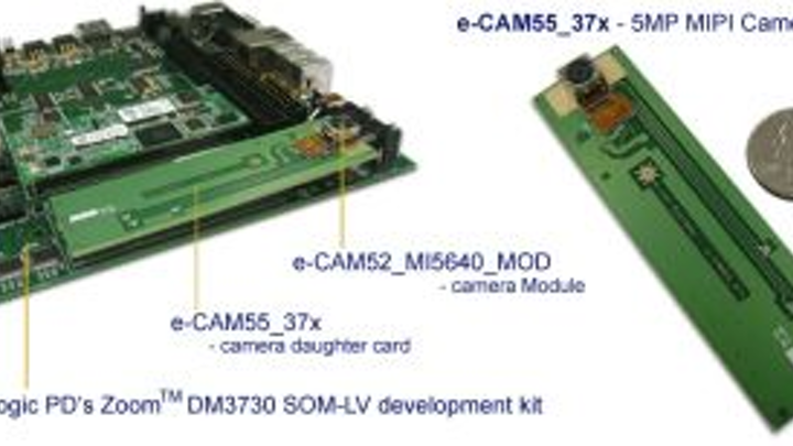 e-con Systems' reference design enables development of camera using TI processor