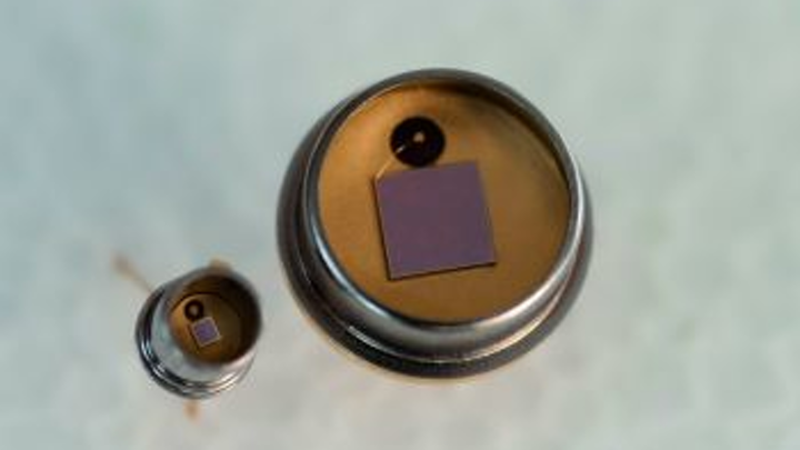 Jenoptik photodiodes for photometric applications do not require an additional filter
