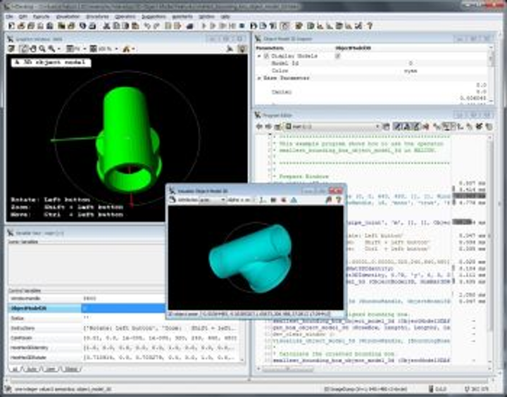 MVTec updates HALCON machine-vision software with codelets and 3-D model inspection