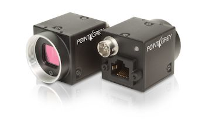 Point Grey's CMOS camera provides 1.3-Mpixel resolution in compact package