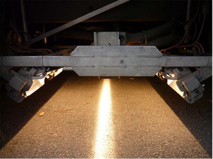 Vision systems examine cracks in pavement