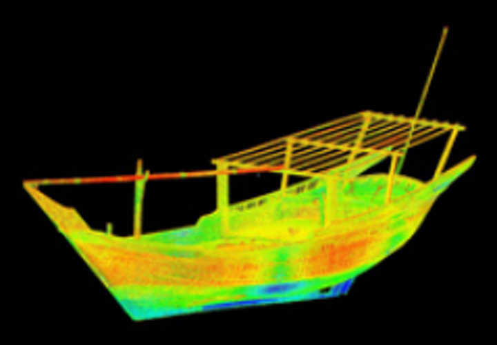 Doha dhows scanned in 3D