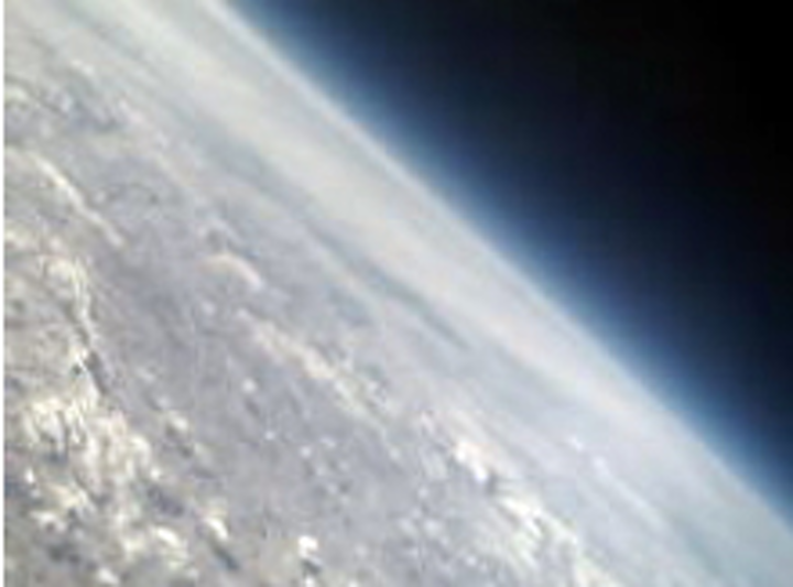 Students launch cameras into the stratosphere