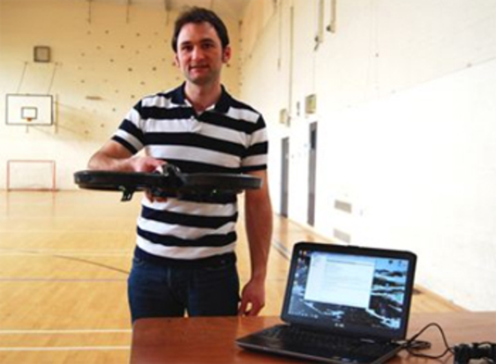 UAV tracks Scottish sheep