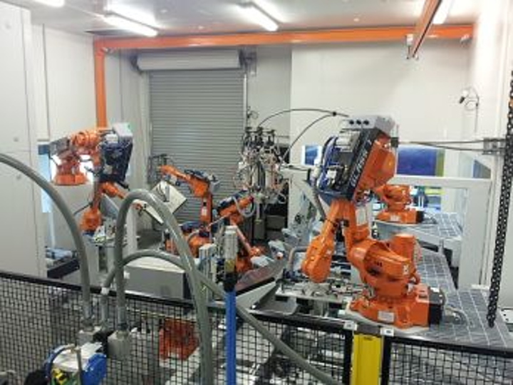 Robotic factory automation system reduces costs, increases