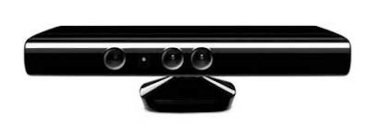 Kinect camera creates 3-D models