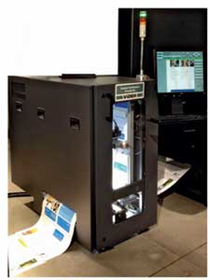 Machine vision system makes light of high-speed printing