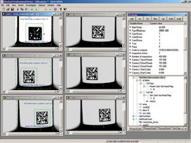 Vision system speeds barcode reading | Vision Systems Design