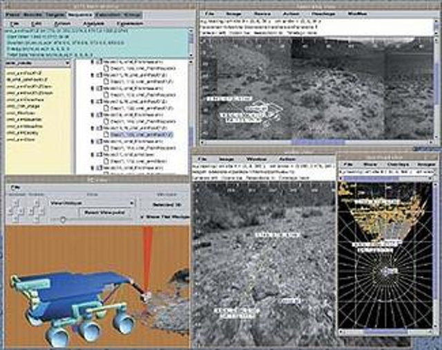 Mars rover vehicle self-senses and moves | Vision Systems Design