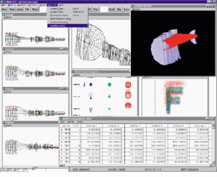 Simplify Lens Design With Cad Software Thats Easy To Use Vision Systems Design