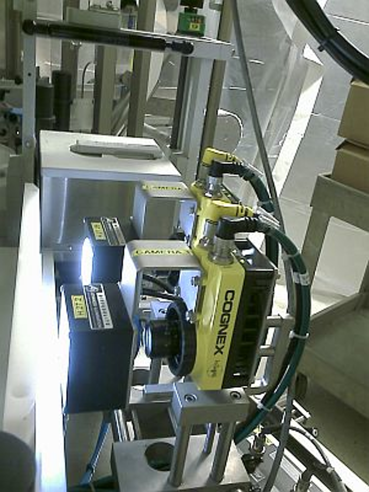 OCR/OCV vision systems improve reject rates and quality