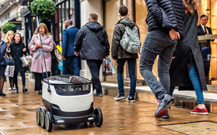 February 2017 snapshots: Robots for food delivery