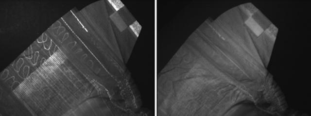 Applying ultraviolet lighting in machine vision applications