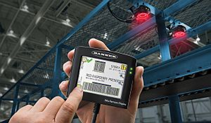 Banner Engineering Ivu Sensors Feature Remote Touch Screen Display For Programming Multiple Devices Vision Systems Design