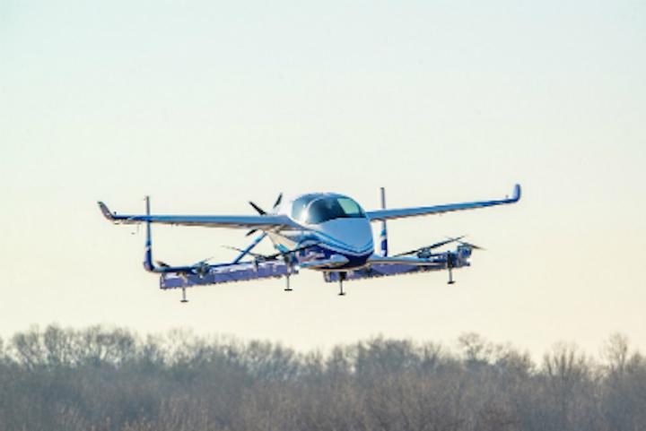 Boeing Passenger Air Vehicle Prototype