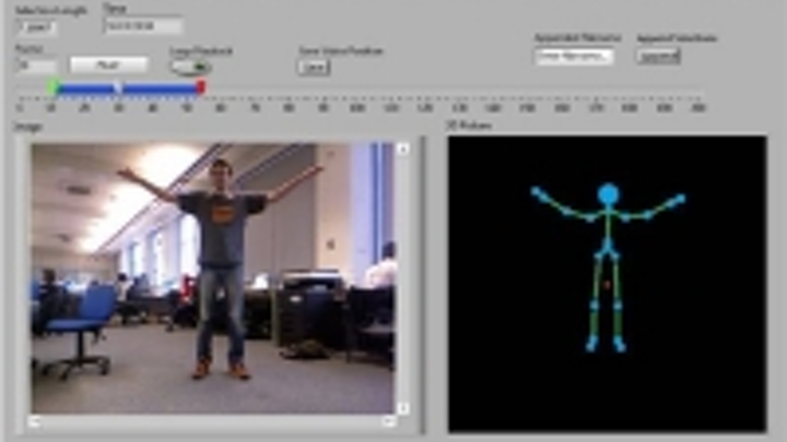 Free toolkit helps Labview developers interface to the Kinect