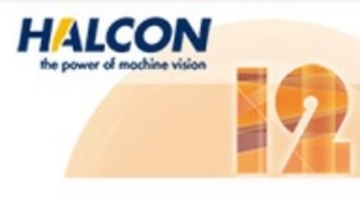 HALCON 12 machine vision software