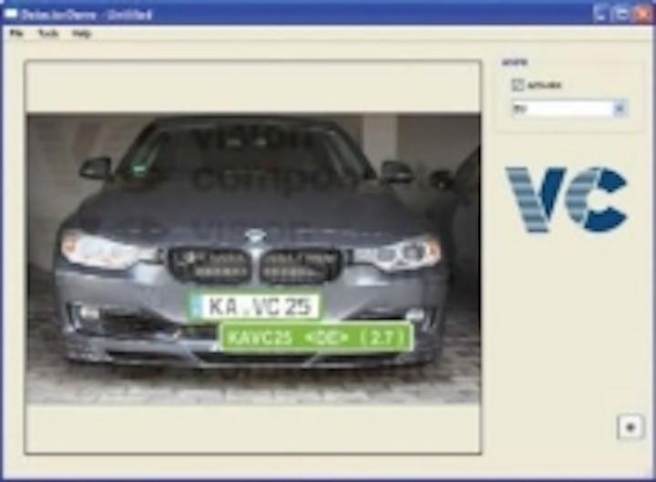 Content Dam Vsd En Articles 2014 07 Vision Components Launches Automatic License Plate Recognition Software Leftcolumn Article Thumbnailimage File